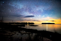 Milky Way over Spike Horn Bay